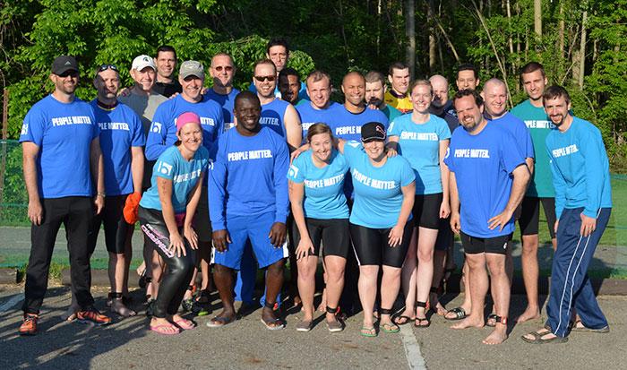 Block Imaing triathlon team 2014