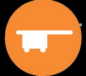 C_Arm_Table_Orange